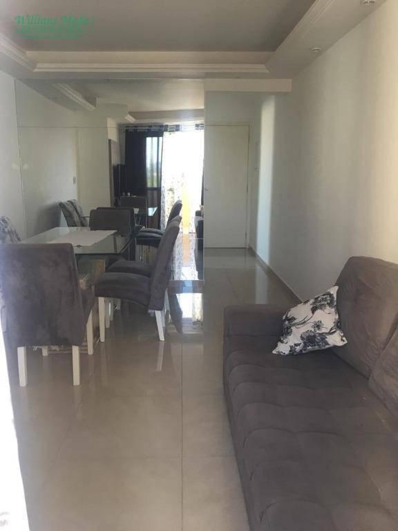 Apartamento com 2 dormitórios à venda, 58 m² por R$ 350.000 - Vila Milton - Guarulhos/SP