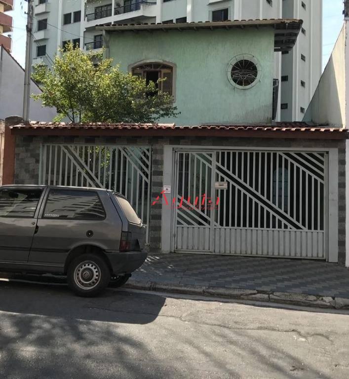 Sobrado com 3 dormitórios à venda, 197 m² por R$ 795.000 - Vila Bastos - Santo André/SP