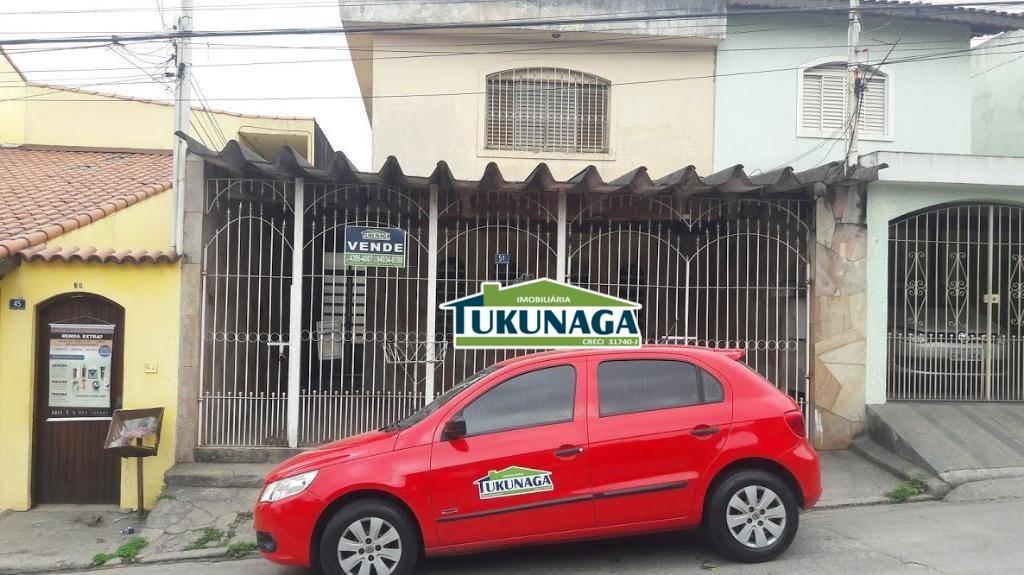 Sobrado residencial para venda e locação, Jardim Palmira, Guarulhos.