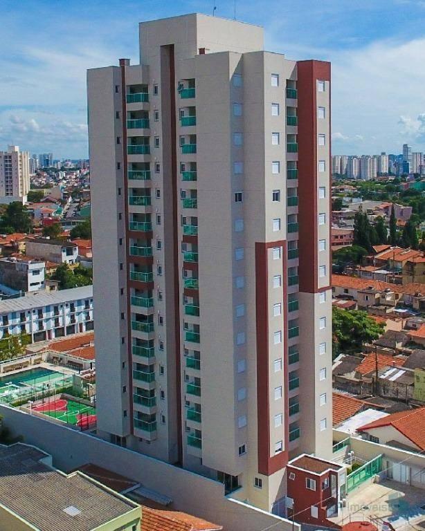 Apartamento à venda, 73 m² por R$ 560.000,00 - Vila Assunção - Santo André/SP