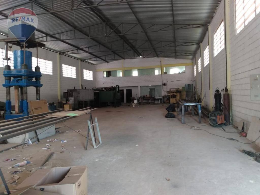 Galpão à venda, 750 m² por R$ 1.500.000 - Guaxinduva - Atibaia/SP