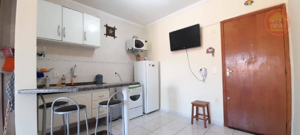 Kitnet com 1 dormitório à venda, 28 m² por R$ 103.200,00 - Caiçara - Praia Grande/SP