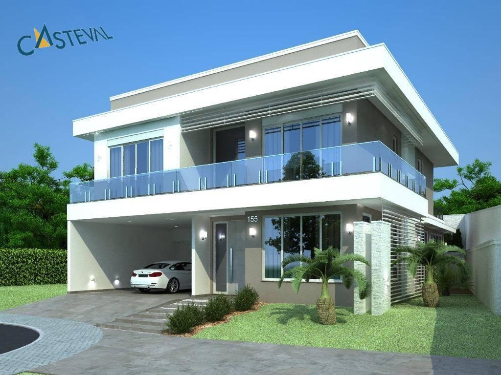 CA0117-CST, Casa de 4 quartos, 336 m² à venda no Santa Felicidade - Curitiba/PR