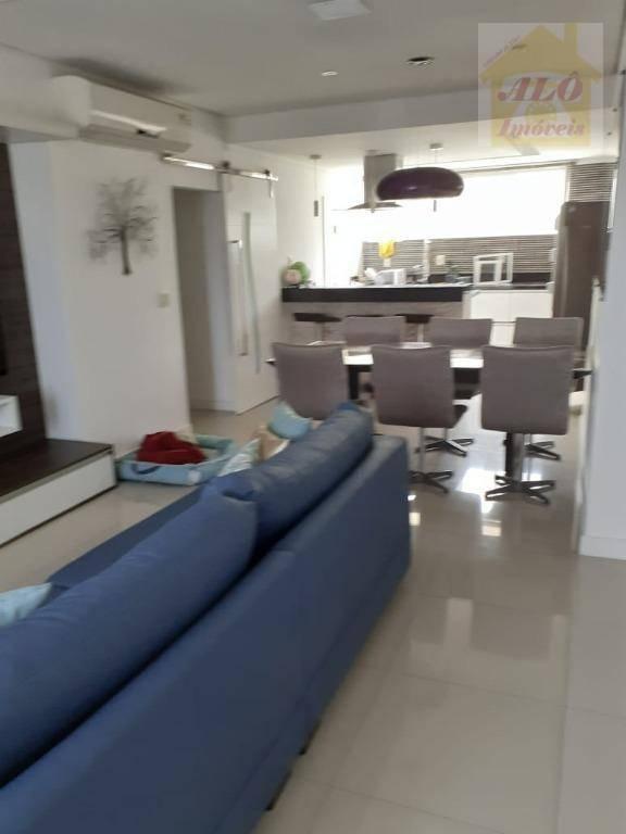 Apartamento com 2 dormitórios à venda, 110 m² por R$ 490.000 - Itararé - São Vicente/SP