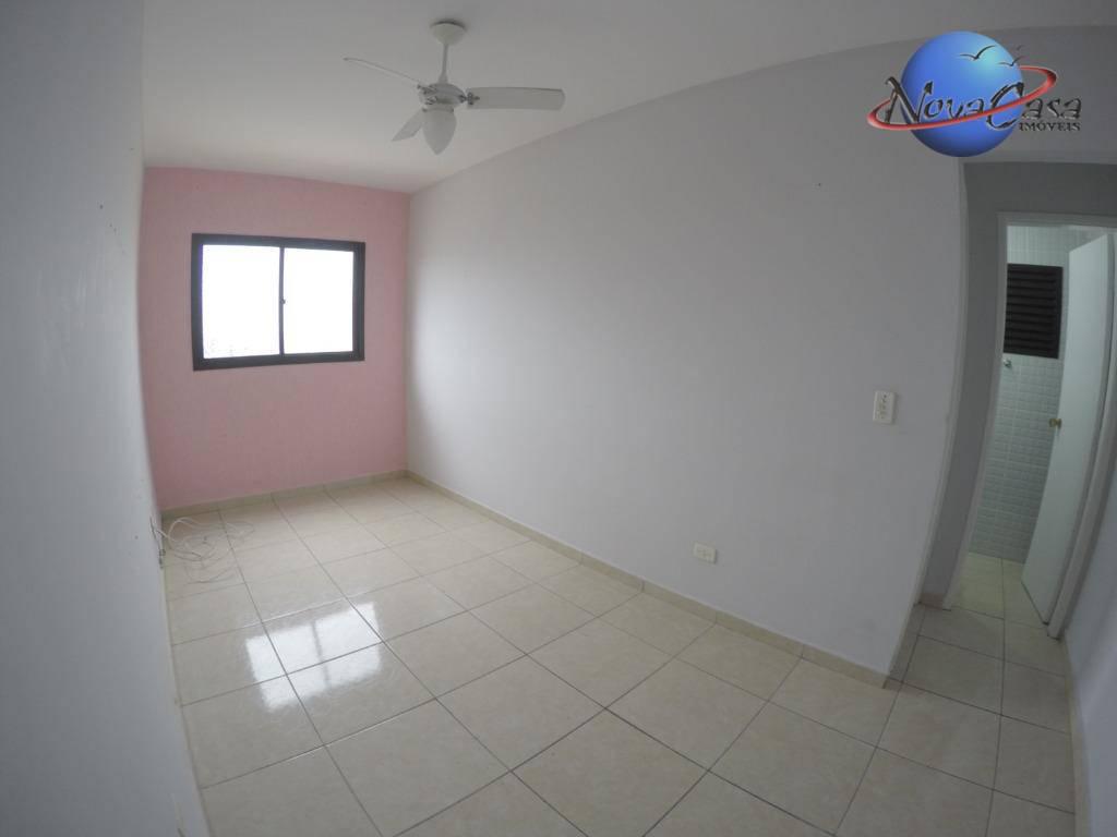 Apartamento com 1 dormitório para alugar por R$ 800/mês - Ocian - Praia Grande/SP