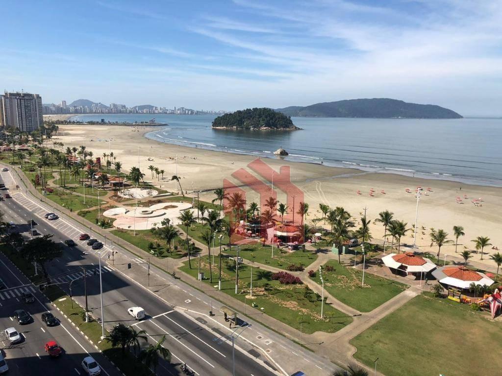 Kitnet para alugar, 39 m² por R$ 1.500,00/mês - Itararé - São Vicente/SP