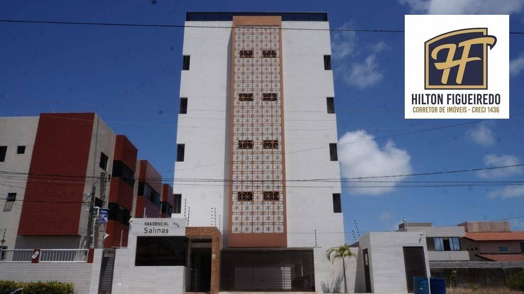 Apartamento com 2 dormitórios à venda, 58 m² por R$ 225.000,00 - Intermares - Cabedelo/PB