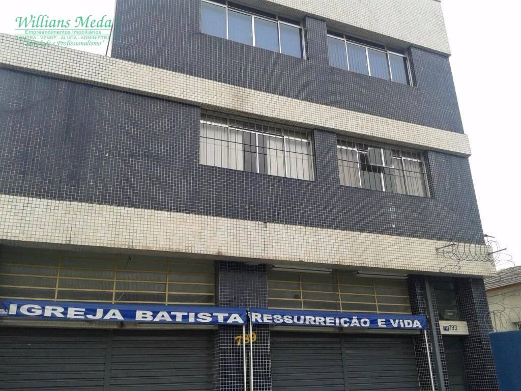 Sala comercial para locação, Jardim Bom Clima, Guarulhos.