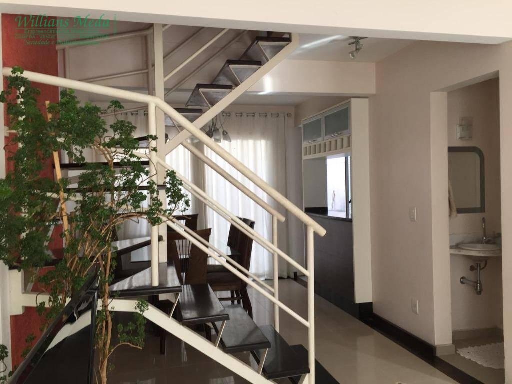 Sobrado residencial para venda e locação, Parque Renato Maia