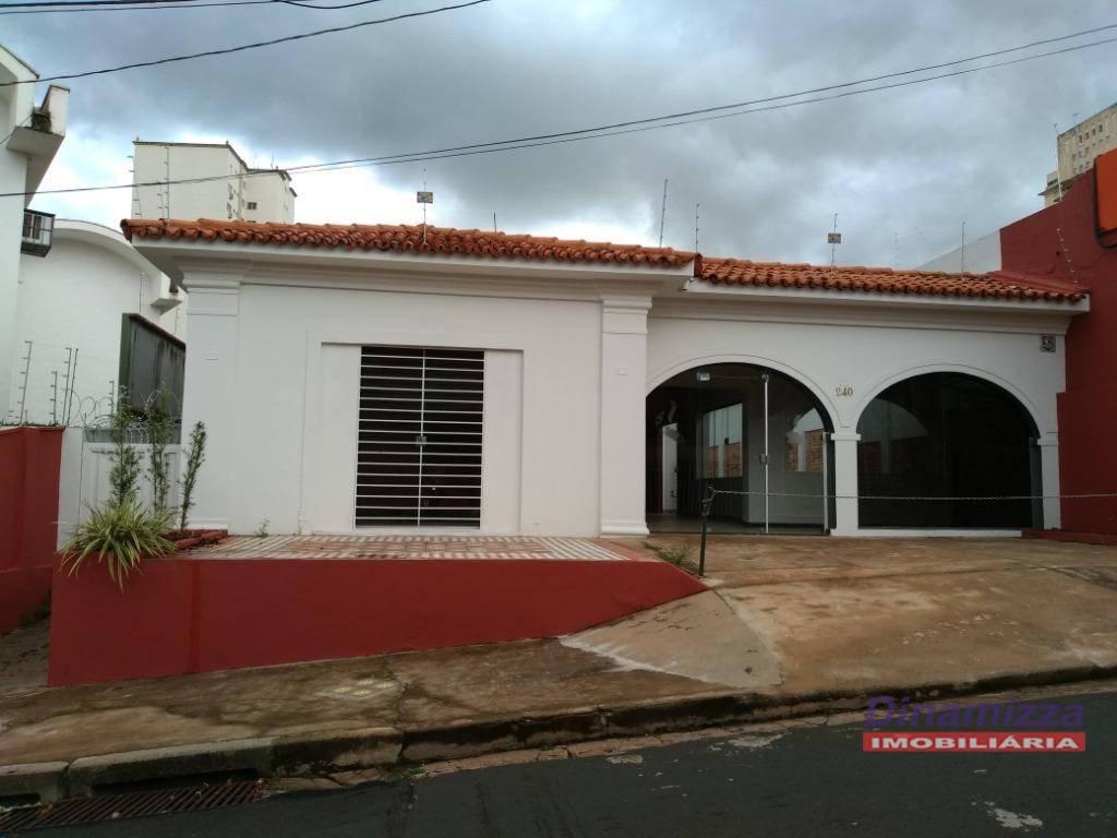 Casa comercial para alugar - Jardim Alexandre Campos - Uberaba/MG