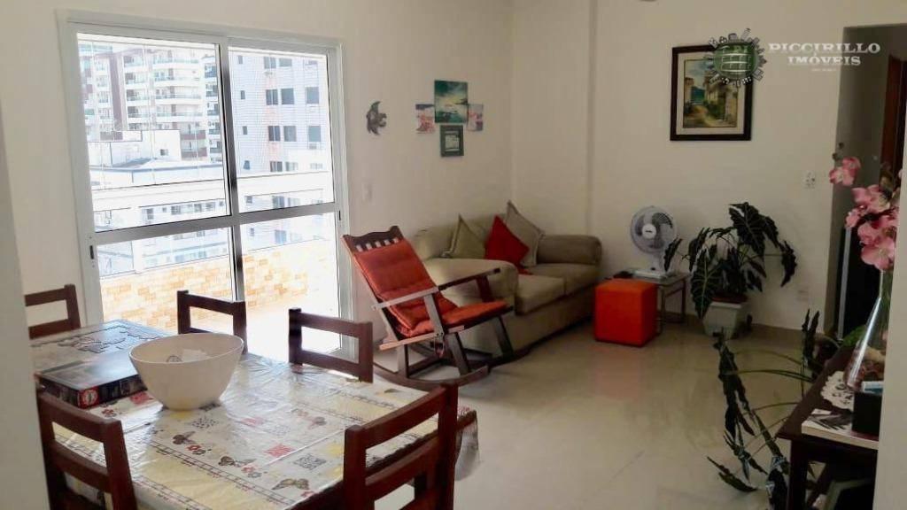 Apartamento à venda, 90 m² por R$ 370.000,00 - Vila Guilhermina - Praia Grande/SP