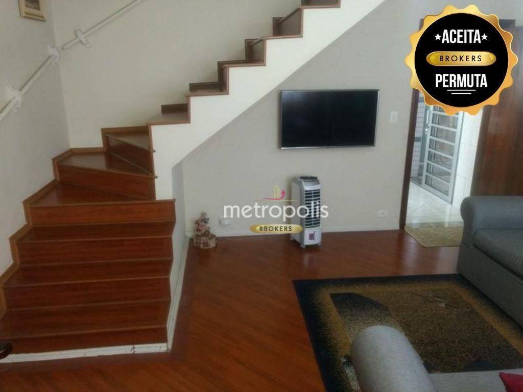 Sobrado com 3 dormitórios à venda, 140 m² por R$ 600.000,00 - Boa Vista - São Caetano do Sul/SP