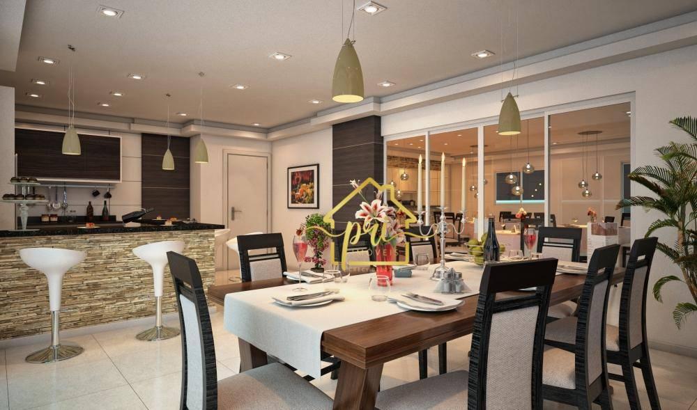 Apartamento à venda, 90 m² por R$ 285.000,00 - Aviação - Praia Grande/SP