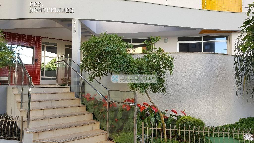 Apartamento para venda e locação no Centro de Londrina com 1 dormitório, 50 m² por R$ 220.000