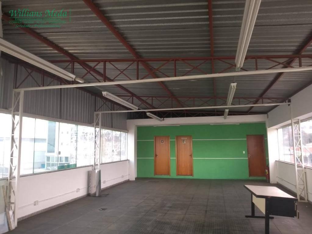 Sala para alugar, 190 m² por R$ 2.500/mês - Jardim São Paulo - Guarulhos/SP