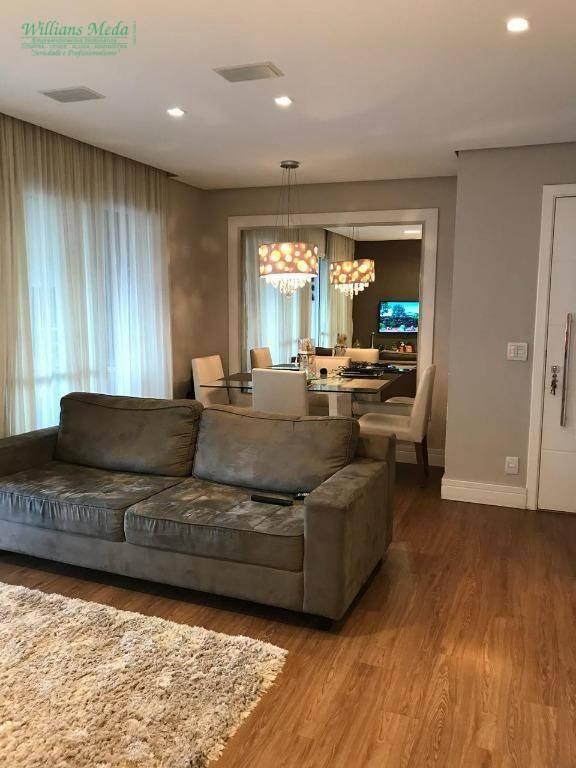 Apartamento com 3 dormitórios à venda, 92 m² por R$ 630.000 - Vila Augusta - Guarulhos/SP