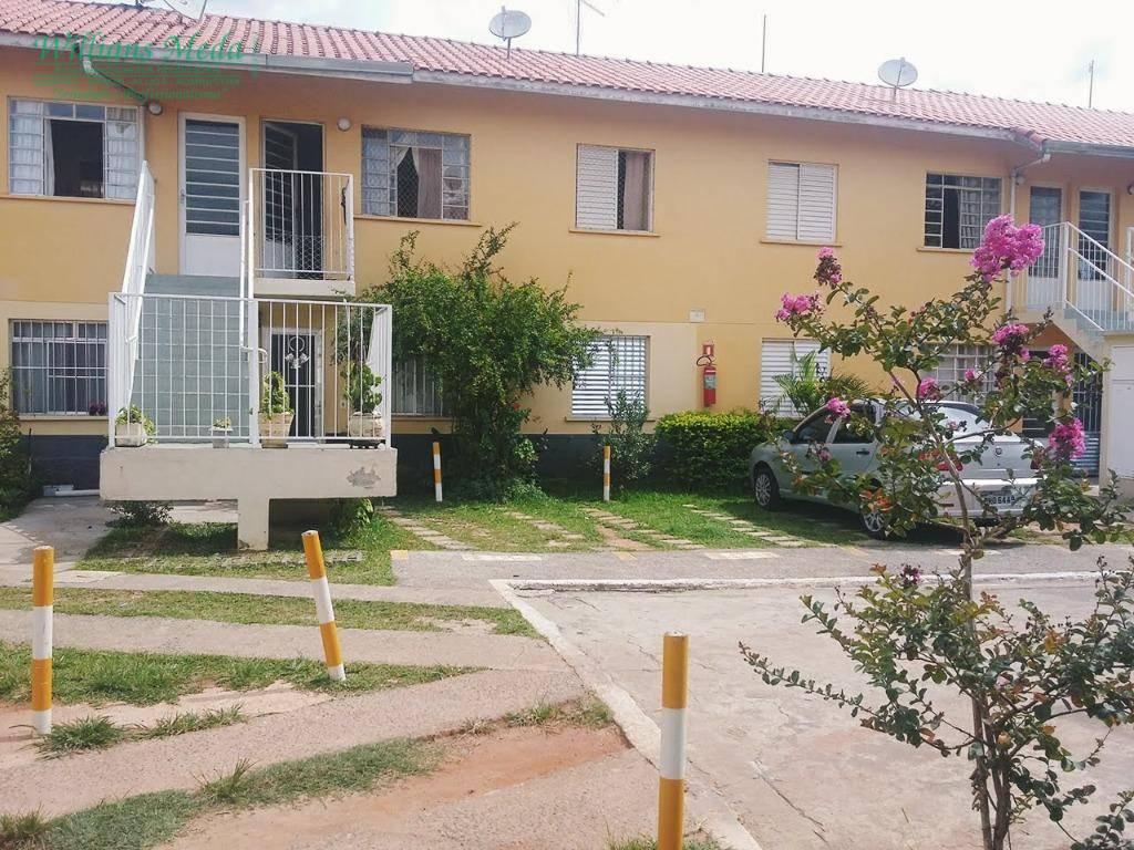Casa sobreposta com 02 dormitórios à venda, Jardim Maria Dir
