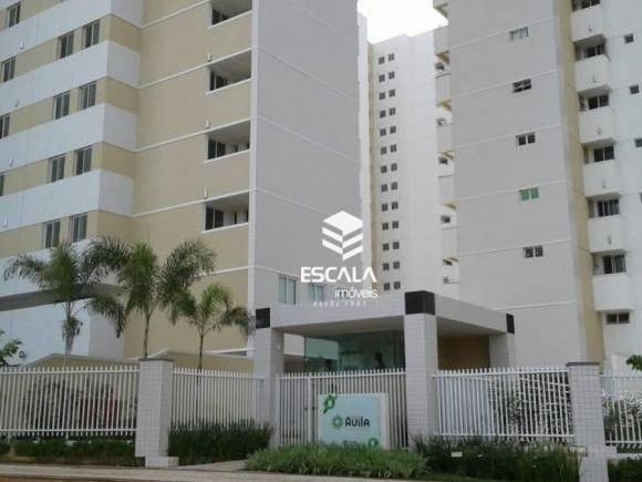 Apartamento com 3 quartos à venda, 91 m², novo, área de lazer, 2 vagas, financia - Cidade dos Funcionários - Fortaleza/CE