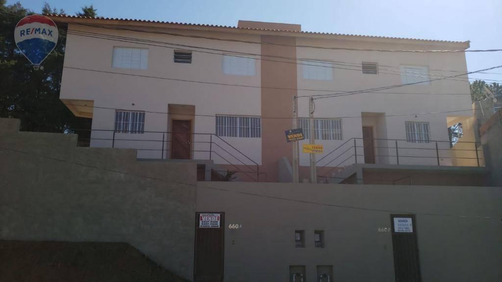 Casa com 2 dormitórios à venda por R$ 215.000 - Jardim Santo Antônio - Atibaia/SP