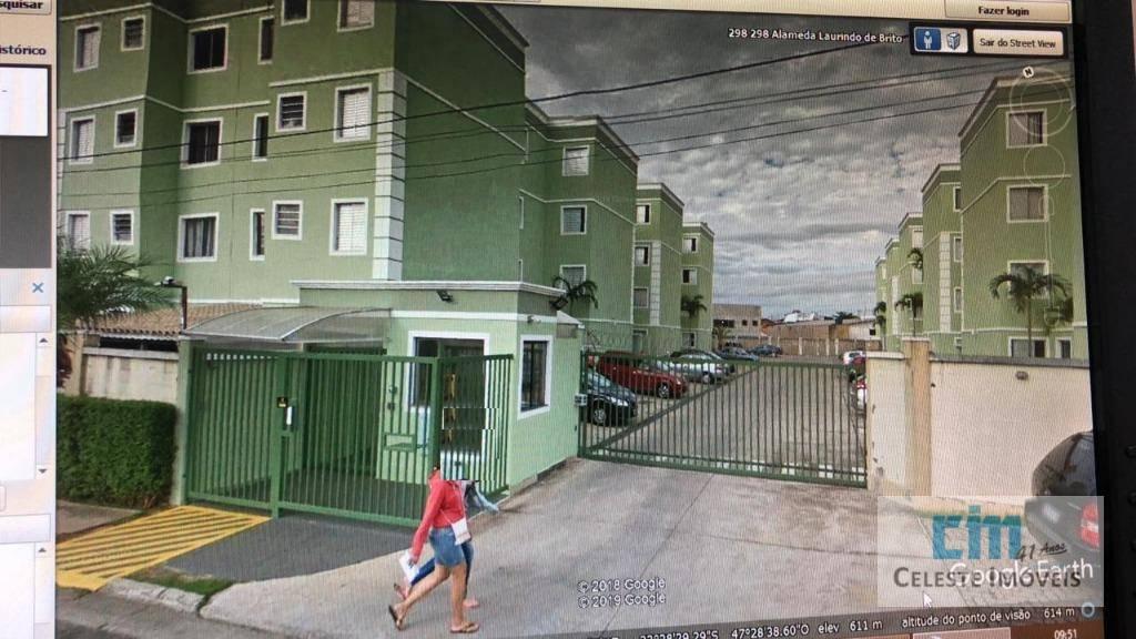 Apartamento com 2 dormitórios à venda, 47 m² por R$ 175.000,00 - Jardim Los Angeles - Sorocaba/SP