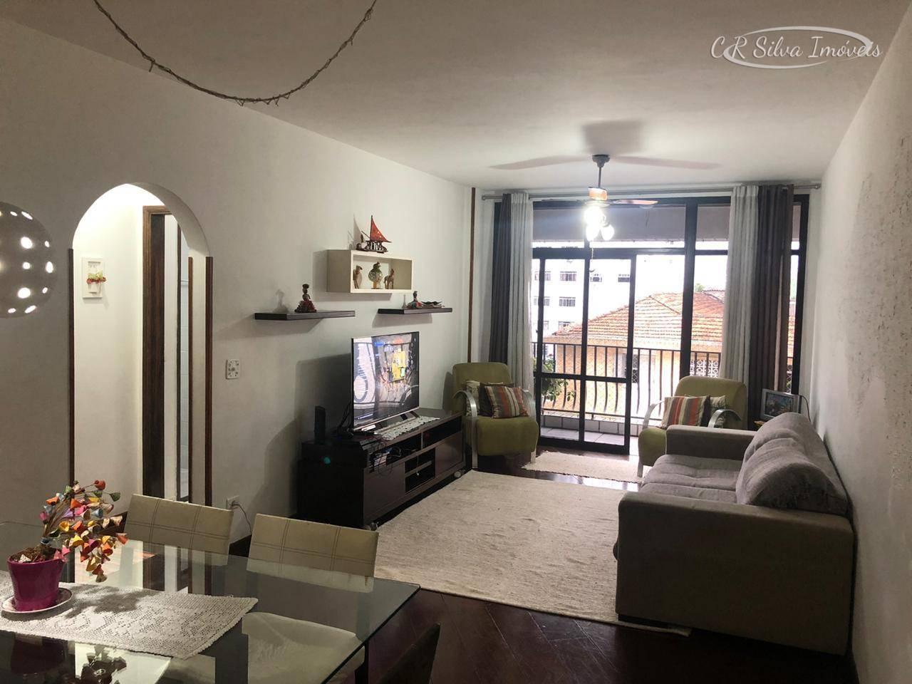 Apartamento com 2 dormitórios para alugar, 85 m² - Centro - São Vicente/SP