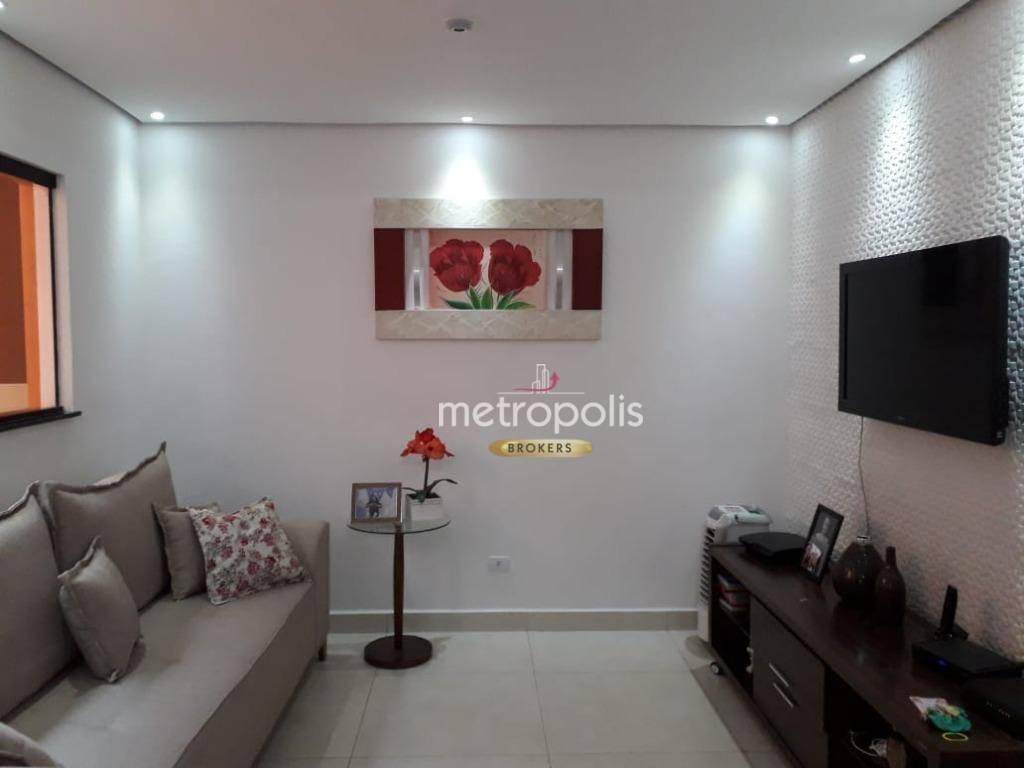 Casa com 3 dormitórios à venda por R$ 480.000,00 - Vila Floresta - Santo André/SP
