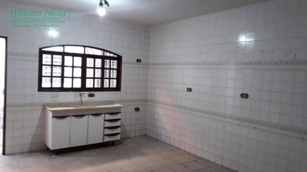 Casa com 1 dormitório à venda, 125 m² por R$ 400.000 - para locação R$ 1.200,00 + IPTU/mês.- Jardim Santa Clara - Guarulhos/SP.