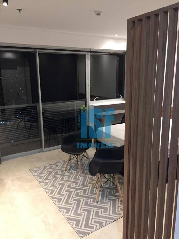 Flat com 1 dormitório para alugar, 32 m² por R$ 2.694,00/mês - Centro - Osasco/SP - FL0027