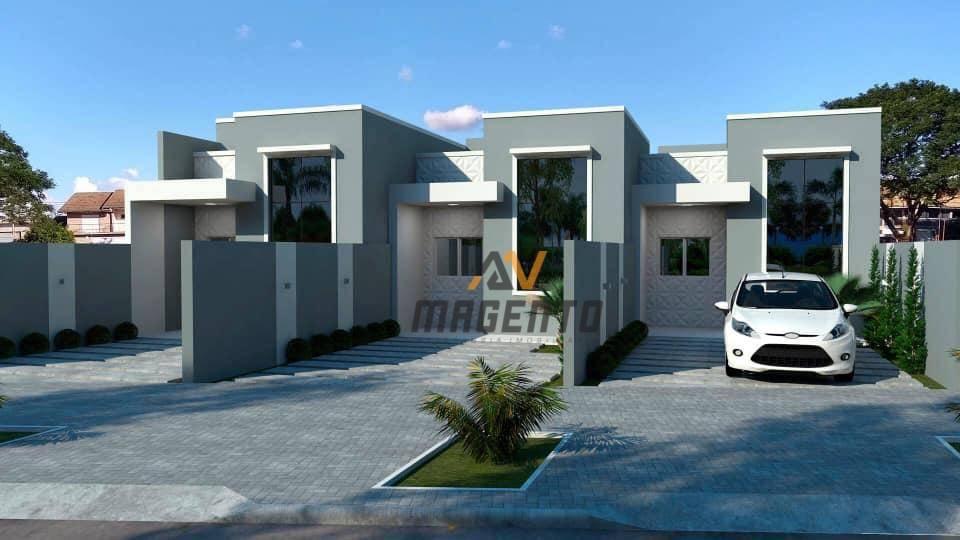 Casa com 3 dormitórios à venda, 70 m² por R$ 285.000 - Claudete - Cascavel/PR