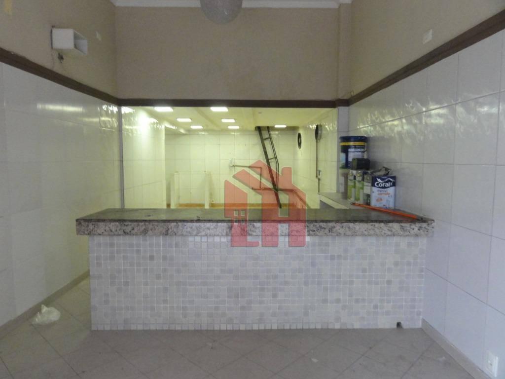 Ponto para alugar, 49 m² por R$ 4.600,00/mês - Aparecida - Santos/SP