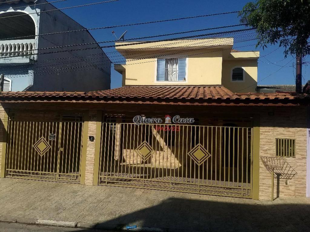 Sobrado residencial para venda e locação, Jardim Santa Bárba