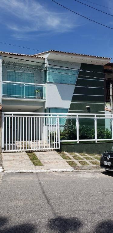 Casa com 3 dormitórios à venda, 158 m² por R$ 450.000 - Tribobó - São Gonçalo/RJ