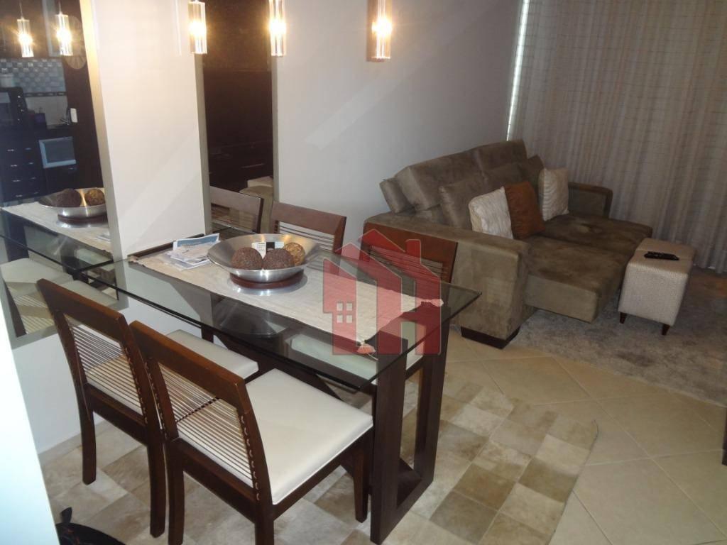 Loft à venda, 67 m² por R$ 544.000,00 - Gonzaga - Santos/SP