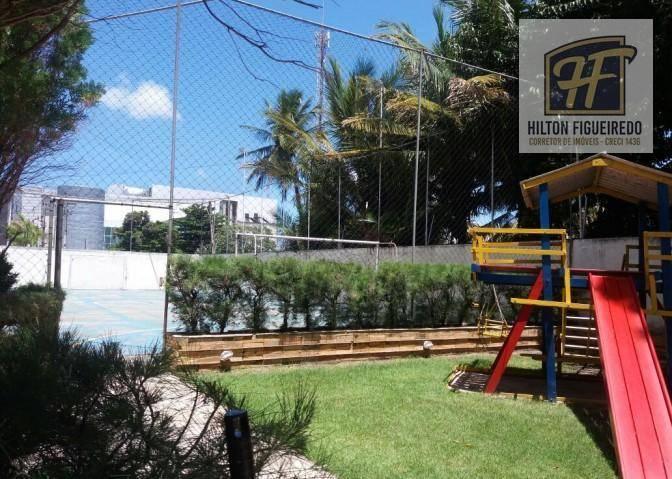 Apartamento com 4 dormitórios para alugar, 185 m² por R$ 2.942/mês - Aeroclube - João Pessoa/PB