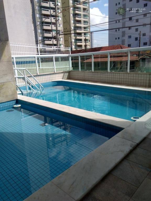 Apartamento 2 dormitórios, 75 m², R$ 285 mil, Aviação, Praia Grande/SP
