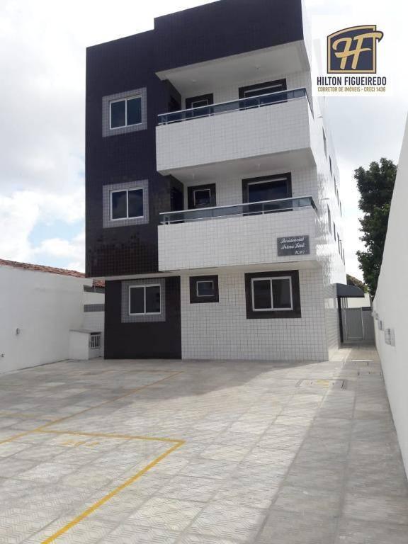 Apartamento com 2 dormitórios à venda, 44 m² por R$ 130.000,00 - Cristo Redentor - João Pessoa/PB