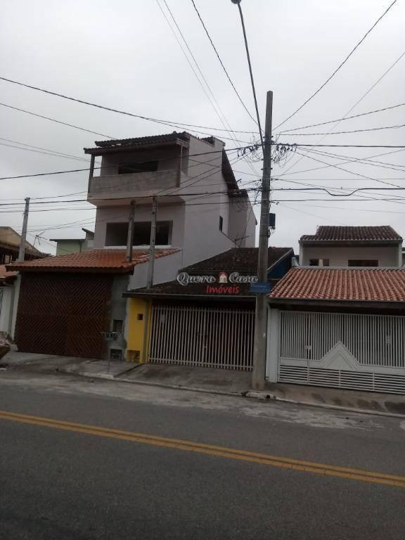 Sobrado com 3 dormitórios à venda, 208 m² por R$ 450.000 - R