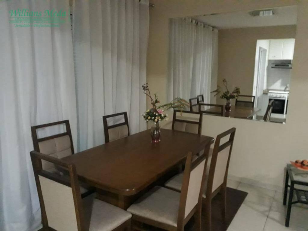 Sobrado com 3 dormitórios à venda, 88 m² por R$ 590.000 - Parque Renato Maia - Guarulhos/SP