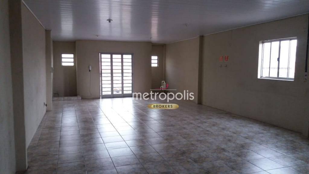 Galpão para alugar, 420 m² por R$ 6.000,00/mês - Santo Antônio - São Caetano do Sul/SP