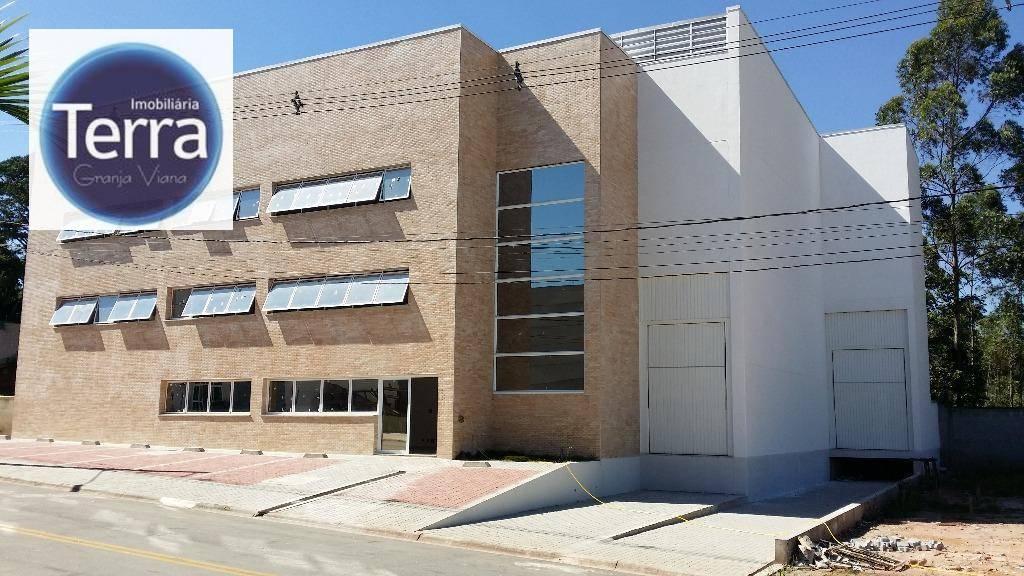 Galpão industrial para locação, Centro Empresarial Raposo Tavares, Vargem Grande Paulista.