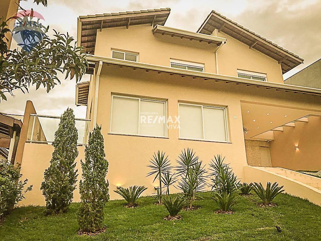 Casa com 4 dormitórios à venda/locação, 384 m² por R$ 1.400.000 - Condominio Figueira Garden - Atibaia/SP