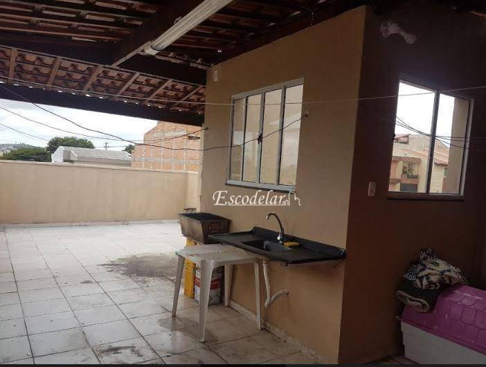 Apartamento com 2 dormitórios à venda, 40 m² - Vila Pires - Santo André/SP