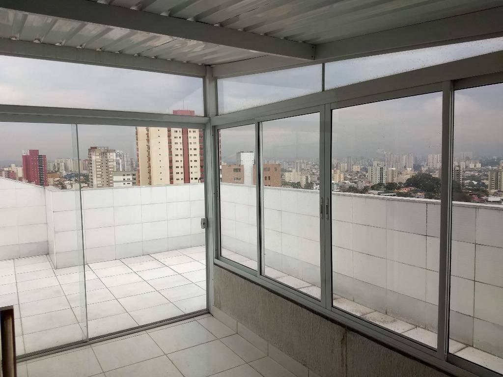 Oportunidade! Cobertura nova à venda, 134 m², Vila Valparaíso, Santo André.