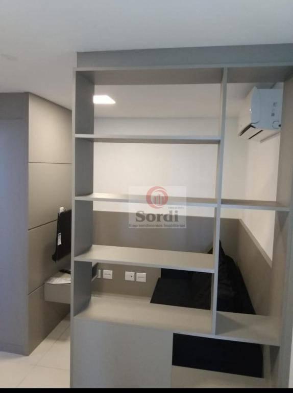 Flat com 1 dormitório para alugar, 40 m² por R$ 1.600,00/mês - Nova Aliança - Ribeirão Preto/SP