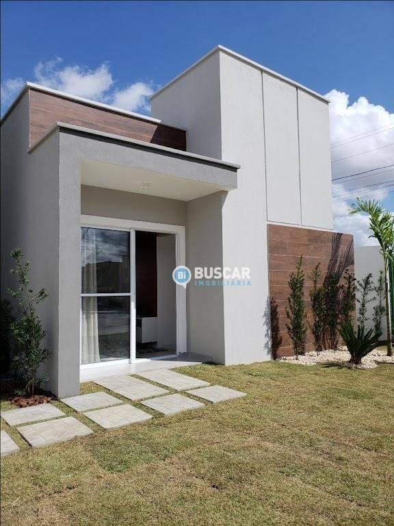 Casa com 2 dormitórios à venda, 48 m² por R$ 129.900 - Sim - Feira de Santana/BA