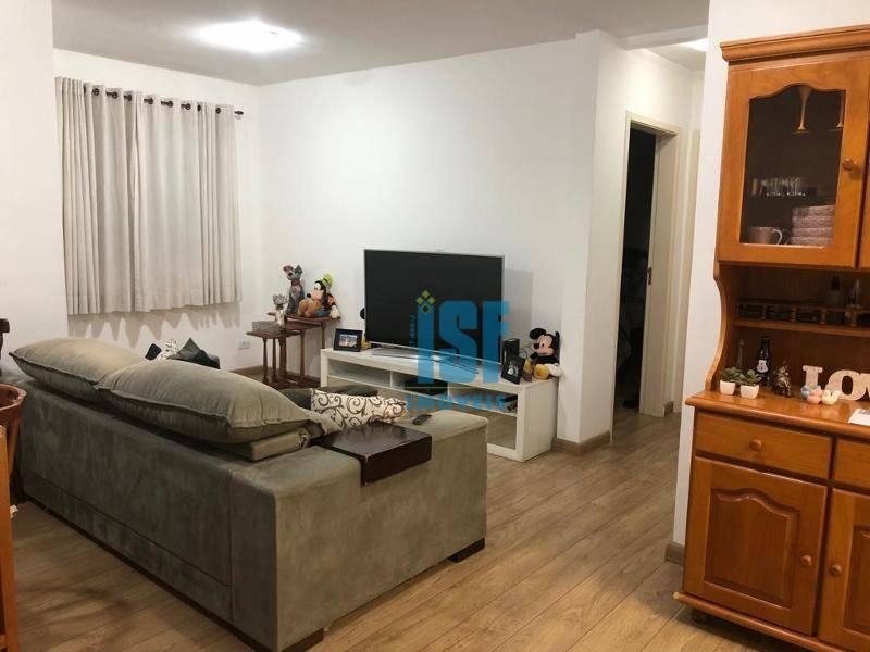 Apartamento com 2 dormitórios à venda, 69 m² por R$ 300.000 - Jardim Ipês - Cotia/SP - AP24554.