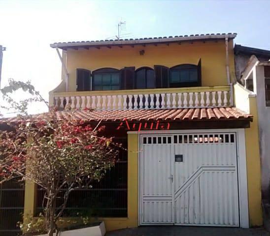 Sobrado residencial à venda, Jardim das Maravilhas, Santo André.