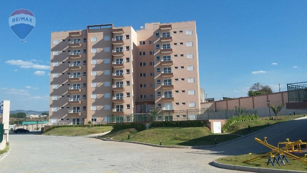 Apartamento com 2 dormitórios para alugar, 79 m² por R$ 1.800/mês  Avenida Jerônimo de Camargo, 6555 - Vila Santa Clara - Atibaia/SP