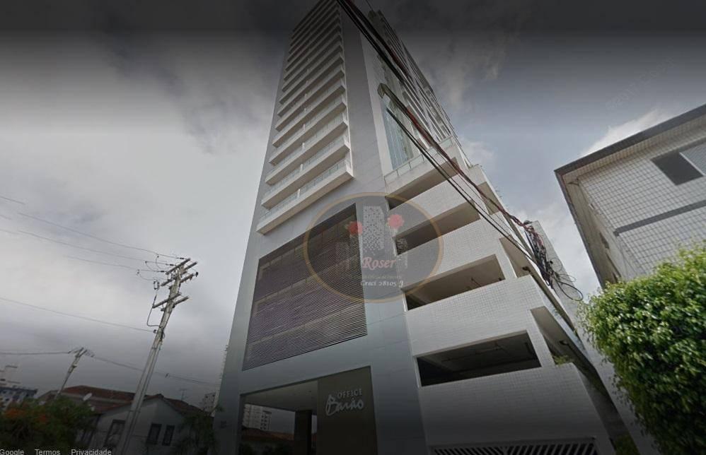 Locação laje corporativa Barão Office Santos | Locação venda
