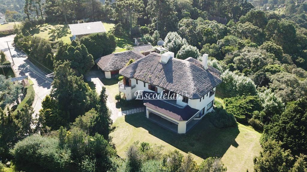 Chácara com 6 dormitórios à venda, 614000 m² por R$ 3.500.000 - Alto da Vila Inglesa - Campos do Jordão/SP